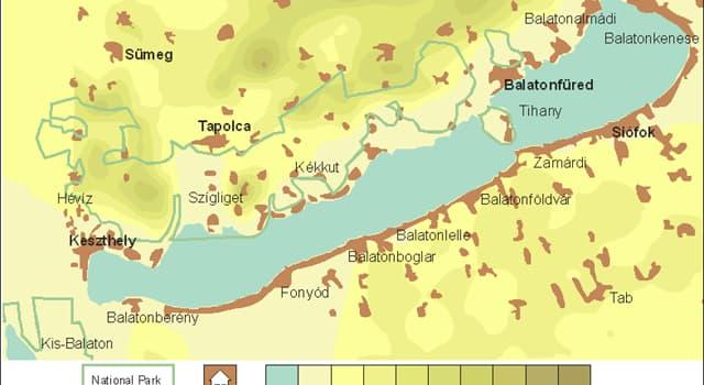 Geographie Wissensfrage: In welchem Land liegt der Balaton?