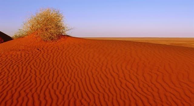 Geographie Wissensfrage: In welchem Land liegt die Simpsonwüste?