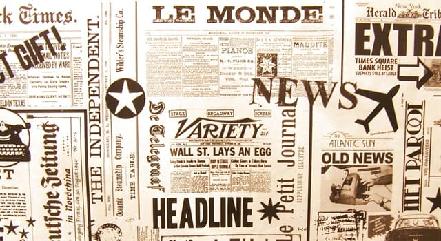 """Society Trivia Question: In which city is the newspaper """"Le Monde"""" published?"""