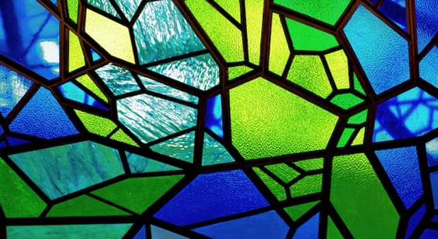 History Trivia Question: In which period of art history were stained glass windows introduced for church decoration?
