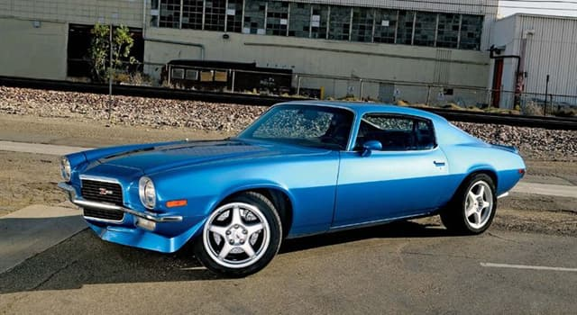 Society Trivia Question: In which year did Chevrolet release their second generation of the Camaro?