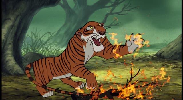 """Kultura Pytanie-Ciekawostka: Jak nazywa się fikcyjny tygrys bengalski z """"Księgi dżungli"""" Rudyarda Kiplinga?"""