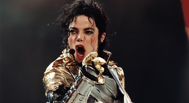 Kultura Pytanie-Ciekawostka: Jaki był tytuł Michaela Jacksona?