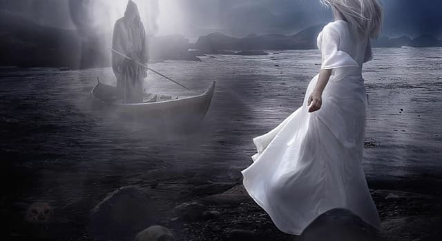 Історія Запитання-цікавинка: Як називається річка мертвих, яка описана в грецькій міфології?