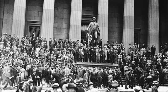 Історія Запитання-цікавинка: Як назвали день, коли сталося обвальне падіння цін акцій в США в 1929 році?