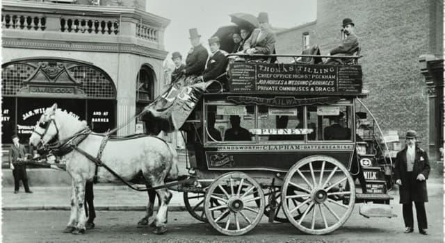 Історія Запитання-цікавинка: Як називалася багатомісна візок на кінній тязі - міський громадський транспорт XIX століття?