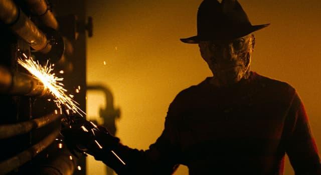 Фільми та серіали Запитання-цікавинка: Як звуть головного негативного персонажа серії фільмів жахів «Кошмар на вулиці В'язів»?