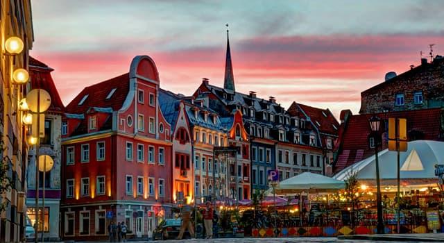 Географія Запитання-цікавинка: Яке місто є столицею Латвії?