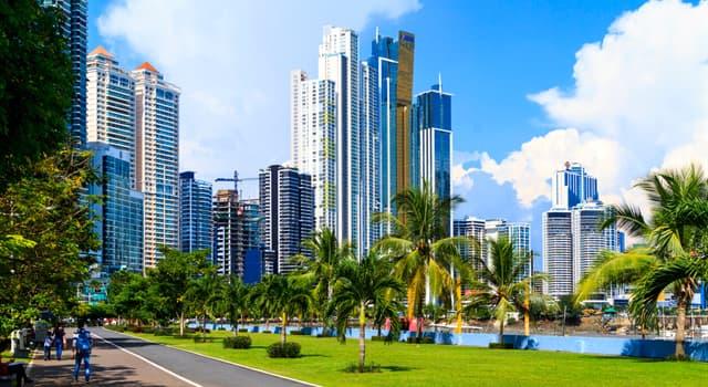 Географія Запитання-цікавинка: Яке місто є столицею Панами?