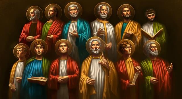 Культура Запитання-цікавинка: Який з дванадцяти апостолів, згідно з Євангелієм від Іоанна, першим був покликаний Ісусом Христом?
