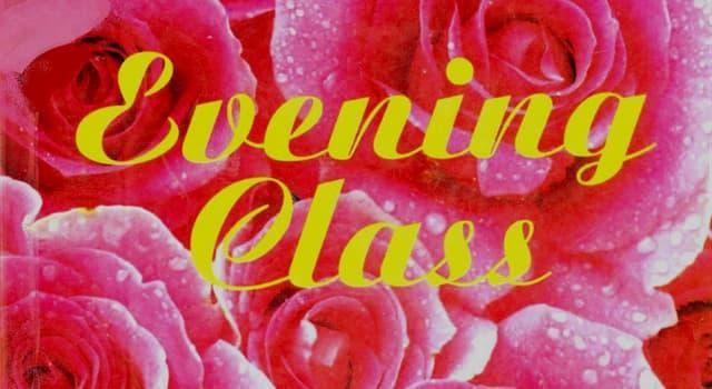 """Kultura Pytanie-Ciekawostka: Kto napisał powieść """"Evening Class""""?"""