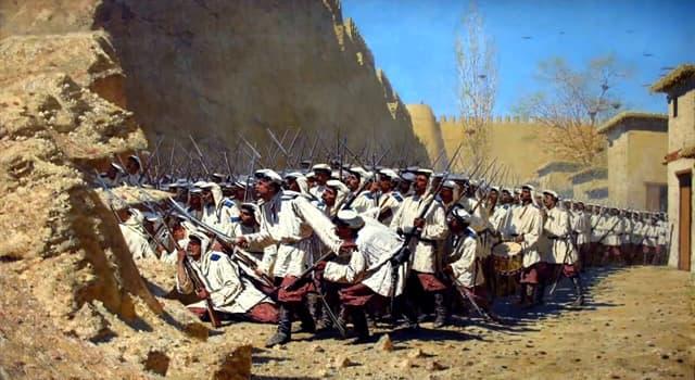 Культура Запитання-цікавинка: Хто є автором серії картин «Туркестанская серія»?