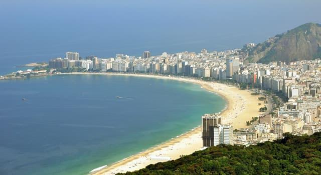 Geografia Pytanie-Ciekawostka: Która plaża Rio de Janeiro jest jedną z najbardziej rozpoznawalnych plaży świata?