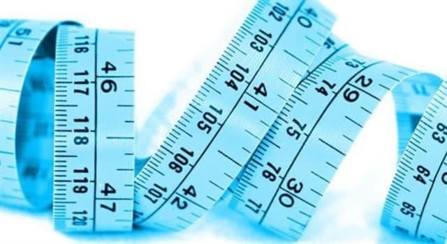 nauka Pytanie-Ciekawostka: Która z tych jednostek miary jest najmniejsza?