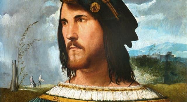 Kultura Pytanie-Ciekawostka: Który artysta był również inżynierem wojskowym Cezara Borgii?