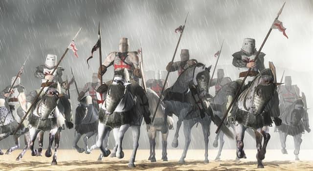 historia Pytanie-Ciekawostka: Który katolicki zakon wojskowy został założony w 1119 roku?