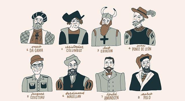 """historia Pytanie-Ciekawostka: Który nawigator otrzymał w 1492 r. tytuł """"Admiral of the Ocean Sea""""?"""