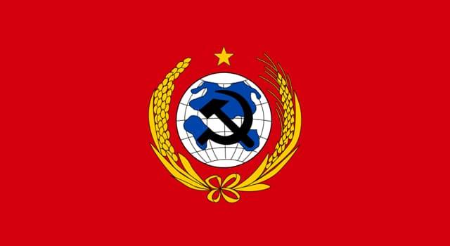 historia Pytanie-Ciekawostka: Który z nich nie jest byłą Republiką Radziecką?