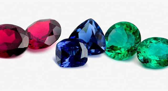 natura Pytanie-Ciekawostka: Który z tych kamieni szlachetnych jest zielony?