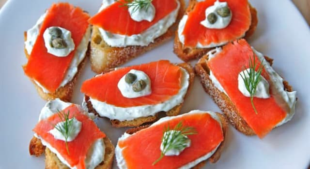 Nature Trivia Question: Which of these is the name of a smoked salmon?