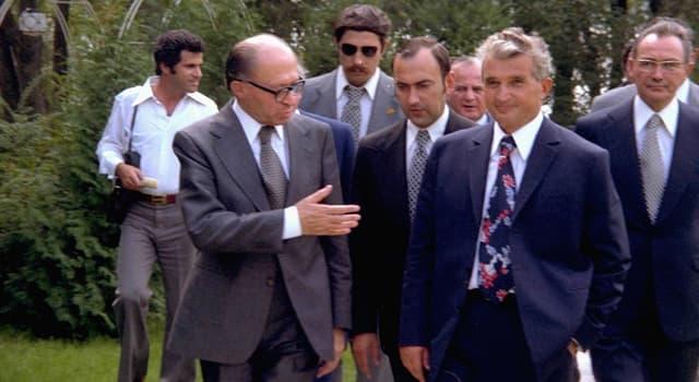 Geschichte Wissensfrage: Menachem Begin war Ministerpräsident und Außenminister welches Staates?
