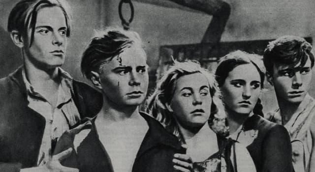 Історія Запитання-цікавинка: «Молода гвардія» - радянська антифашистська організація, яка діяла в роки ВВВ в якому місті?