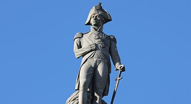 Geografia Pytanie-Ciekawostka: Na jakim londyńskim placu znajduje się kolumna Nelsona?