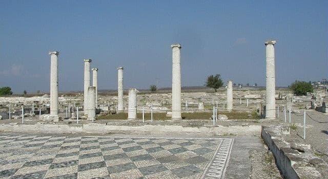 Geschichte Wissensfrage: Pella war die Hauptstadt von welchem antiken Staat?