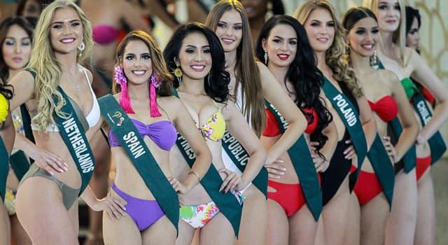 Суспільство Запитання-цікавинка: Представниця якої країни стала переможцем конкурсу краси Міс Земля 2019?