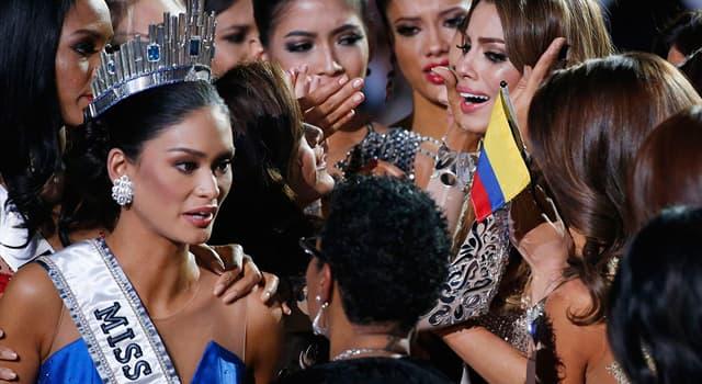 Культура Запитання-цікавинка: З якого року Росія бере участь в конкурсі «Міс Всесвіт?»