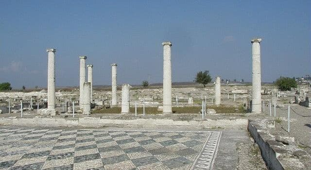 historia Pytanie-Ciekawostka: Stolicą którego starożytnego kraju było miasto Pella?