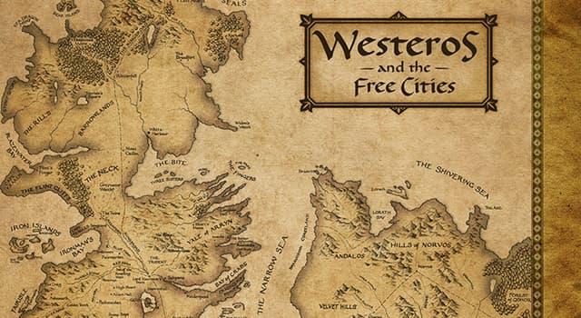"""Фільми та серіали Запитання-цікавинка: У фантазійної драмі """"Гра престолів"""", скільки королівств існувало на континенті Вестерос?"""