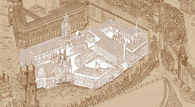 Історія Запитання-цікавинка: В яких роках був зруйнований Чудов монастир?
