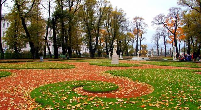 Культура Запитання-цікавинка: В якому російському місті знаходиться Літній сад?