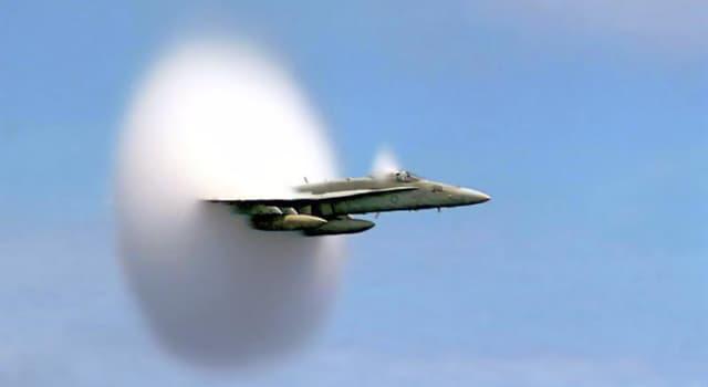 nauka Pytanie-Ciekawostka: Jaka jest prędkość dźwięku (20 stopni Celsjusza w suchym powietrzu)?
