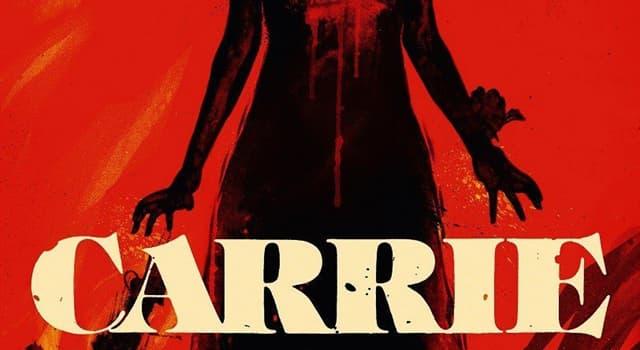 """Kultur Wissensfrage: Von wem wurde der Roman """"Carrie"""" geschrieben?"""
