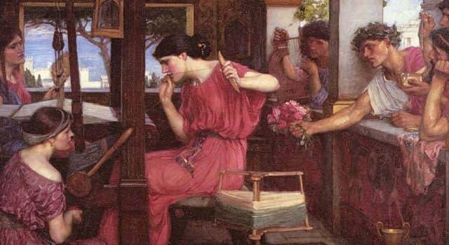 Kultura Pytanie-Ciekawostka: W eposie Homera, Odyssey, czyją żoną jest Penelopa?