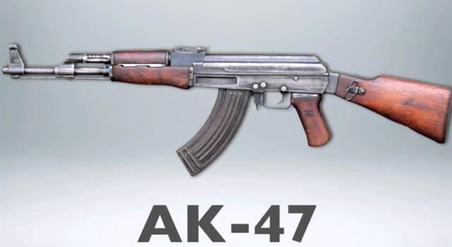 historia Pytanie-Ciekawostka: W którym kraju w 1946 roku opracowano karabinek AK 47?