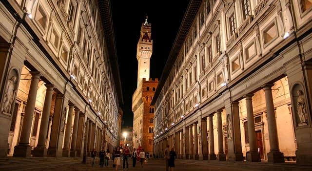 Kultura Pytanie-Ciekawostka: W którym regionie włoskim znajduje się Galeria Uffizi?