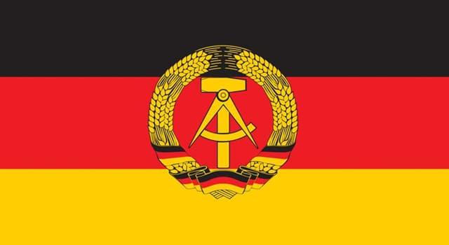 Geschichte Wissensfrage: In welchem Jahr fand die friedliche Revolution in der DDR statt?