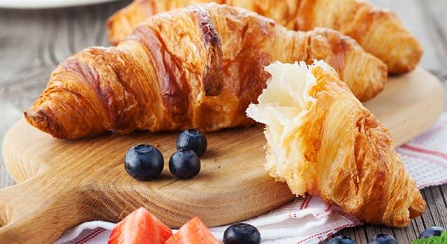 """Kultur Wissensfrage: Was bedeutet das französische Wort """"Croissant"""" wortwörtlich?"""