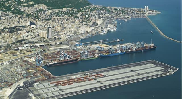 Geographie Wissensfrage: Was ist der größte internationale Seehafen Israels?