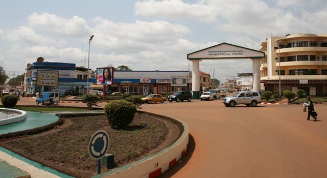 Geographie Wissensfrage: Was ist die Hauptstadt der Zentralafrikanischen Republik?
