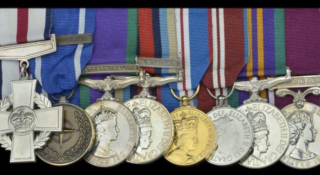 Gesellschaft Wissensfrage: Was ist die höchste Kriegsauszeichnung der Streitkräfte des Vereinigten Königreichs?