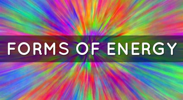 Wissenschaft Wissensfrage: Was kennen wir als Energie der bewegten Masse?