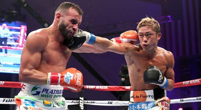 Sport Wissensfrage: Was wird beim Boxen manchmal getan, um Unterwerfung oder Niederlage einzugestehen?