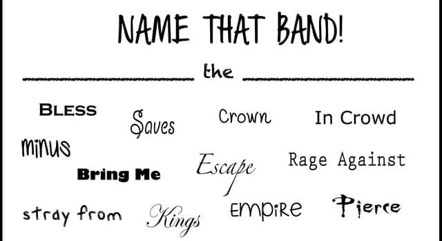 "Kultur Wissensfrage: Welche Band trug zuerst den Namen ""The Pendletones""?"