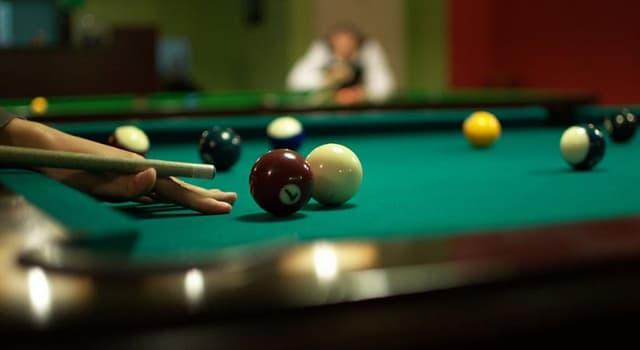 Sport Wissensfrage: Welche Farbe hat die 8 beim Poolbillard?