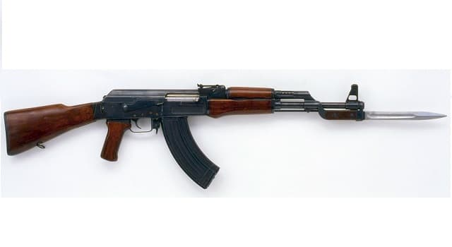 Geschichte Wissensfrage: Welche Waffe ist auf dem Bild dargestellt?
