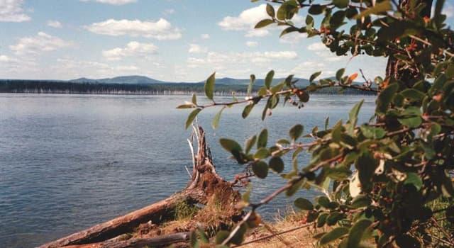 Geographie Wissensfrage: Welcher Fluss  wird auch als einzige Tochter des Baikal bezeichnet?